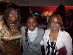 Myself, Chanel (owner of  FOU-DRE Vodka) & my sister Ebony