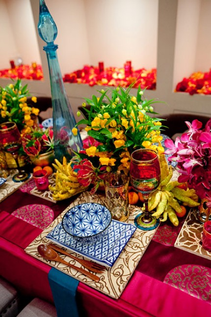 Tablescape Tuesday Pink Indian Party Making It Memorable