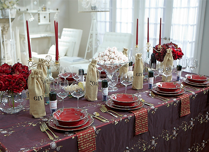 Christmas Party Tablescapes Tablescape Tuesday Wine Party
